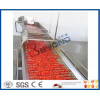 Buy cheap Fruit Processing Tomato Juicer Machine , Electric Tomato Juicer Process Plant And Machinery product