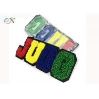 Buy cheap Custom College Chenille Patch Iron On Chenille Letter Patches For clothing product