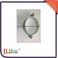 Buy cheap White Galvanised Steel M7 Cast Iron Pipe Clamps With Riveted Nuts product