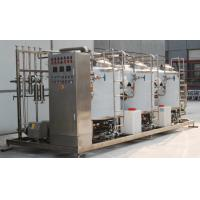 Buy cheap 500LPH Full Auto CIP Cleaning System PLC Control For Dairy Processing Equipment from wholesalers