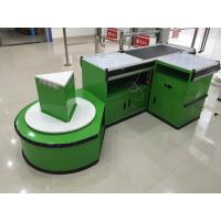 Buy cheap Custom Automatic Checkout Counter With Conveyor Belt from wholesalers