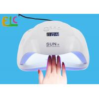 Buy cheap SUN X 54W Polish Curing Lamp with Bottom 30s / 60s Timer LCD Display Lamp product