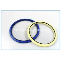 Buy cheap Creamy White Polyurethane PU Hydraulic Rod Buffer Seal For Excavator / Bulldozer from wholesalers