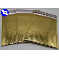 Buy cheap Biodegradable Metallic Bubble Mailers 6*9 Inch Flat Surface Customized Logo product