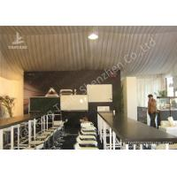 Quality Water Proof White Event Tents , Lining Decoration Outside Canopy Tents For Events for sale