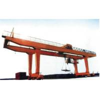 Buy cheap 40t Double Girder Transtainer Gantry Electric Overhead Travelling Crane for Project product
