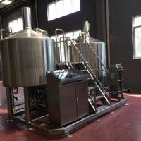 Buy cheap Turnkey Brewery Equipment 3 Vessel Brewhouse SS Brewing Equipment 20Bbl product