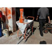 Buy cheap 4HP Cement Mortar Plastering Machine Smooth Surface Finishing Without Delay product