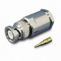 Buy cheap RF Coaxial Connector BNC PLUG CLAMP FOR RG213 LMR400 product