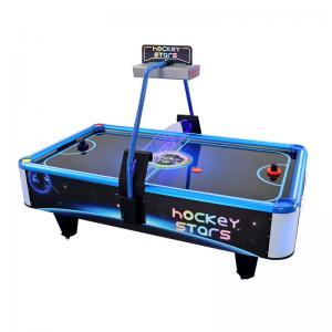 Buy cheap Portable Stars Air Hockey Arcade Machine , Square Hockey Game Machine from wholesalers