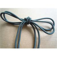Buy cheap Colored Cotton Cord for garment Braided Fabric Waxed Cotton Cord for Shoelace product