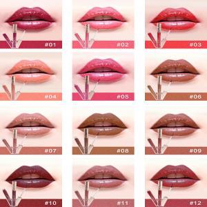 Buy cheap Private label lip gloss matte waterproof lip gloss liquid lipstick natural waterproof own brand lipgloss product