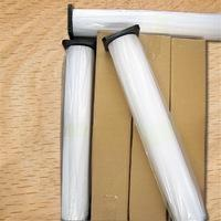 Buy cheap 150gsm Enhanced Adhesive Synthetic Paper , Inkjet Printing White Banner Paper Roll product