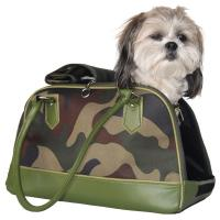Camo Travel Pet Carrier Dog Bag