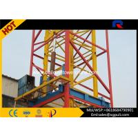 Self Erecting Internal Climbing Tower Crane 3t 35m Jib Heavy Construction Equipment