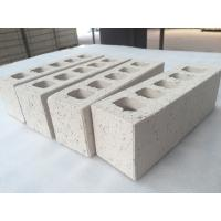 Quality Customized White Clay Hollow Blocks For Wall Building Construction 230 X 76 x 70 mm for sale