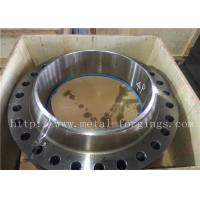 Buy cheap Non - Standard Or Customized Stainless Steel Flange PED Certificates ASME / ASTM-2013 product