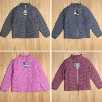 Buy cheap Womens Winter Down Feather Long Sleeve Full Zipper Jacket** Stock AMI-E 176/ 102 from wholesalers