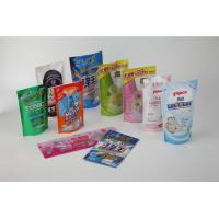 Buy cheap Daily Chemical Flexible Packaging Pouches With Delicate Gravure Printing product