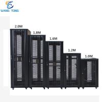 Buy cheap FTTH DDF Server 19 Inch Rack Cabinet 42U Enclosure Disassembled Structure Easy from wholesalers
