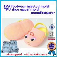 Buy cheap Professional Footwear Injected Mold Soft TPU Shoe Upper Mold product