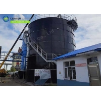 Buy cheap Bolted Steel Dry Bulk Storage Tanks For Cement Coat Storage product