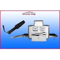 Buy cheap Sound Ligh Alarm L Shaped Photodiode Array X Ray Security Scanner with 220kgs Conveyor Load from wholesalers