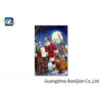 Buy cheap 3D Craft Lenticular Christmas Cards , Interactive Greeting Cards Regular Size product