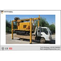 Buy cheap Crawler Mounted Water Well Drilling Rig With Air Compressor / Mud Pump product