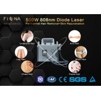 Buy cheap Continuous Mode Permanent Hair Removal Machine , Portable 808 Laser Hair Removal Device product