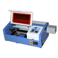 Buy cheap Tabletop Laser Cutting Emgraving Machine For Acrylic / Wood / Double Color Board from wholesalers