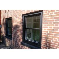 Buy cheap White Powder Coating Aluminium Sash Windows Strong Durability And Safety product