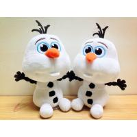 Quality Lovely Disney Plush Toys Disney Frozen Olaf Stuffed Animal , 7 inch Bead Head for sale