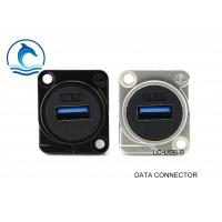 Buy cheap USB 3.0 Digital Data Connector Female Feed Through Data Connector LC-USB-B product