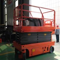 Buy cheap Aerial Work Self Propelled Scissor Lift Movable Proportional Control product