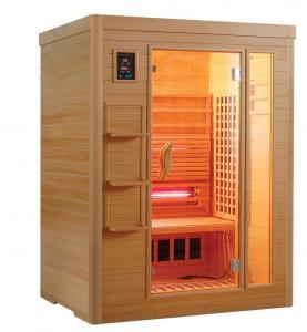 China 3people far infrared sauna room on sale