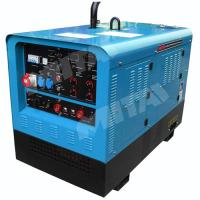 Buy cheap 300A Multi Process Single Phase MMA/SMAW/FCAW/GTAW Engine Driven Welder with AC Generator product