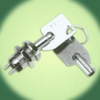 Buy cheap 1A, 125V AC Keylock Switch with Silver-Plated Contacts and Terminals from wholesalers