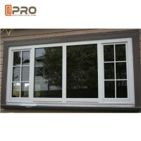Buy cheap Black Aluminium Fabrication Sliding Hurricane Impact Safe Windows For Home Protect product