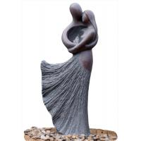 Buy cheap Lover Sculpture Water Fountains , Copper Outdoor Water Fountains For Backyard product