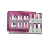Buy cheap Smooth French Dip Kit Non - Yellowing , White And Pink French Nail Art Kit product