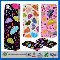 Buy cheap Colorful Umbrella Hard Skin Cover Shell Apple Cell Phone Cases For Iphone 5G 5 5S product