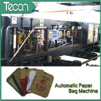 Buy cheap Flat Bottom Pasting Paper Bag Forming Machine Which Can Pack 50Kg Cement product