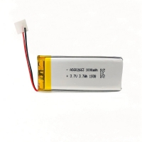 Buy cheap PL602663 1000mAh 3.7 V Small Lipo Battery Overcharge Protection product
