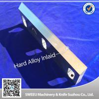 Buy cheap Heat Treatment Plastic Granulator Blades And Knife +-50 Micron Precision product