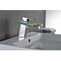 Buy cheap Hot And Cold Water Modern Bathroom Faucets , Brass Bathroom Faucets OEM And ODM product