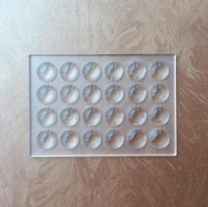 Buy cheap PMMA 24 Array Fresnel Lens 91*63mm Solar Focusing Plastic Acrylic Magnifier DIY Projector product