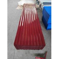 Buy cheap Heavy Duty Corrugated Steel Roof Sheets Zinc Coated Standard Size product