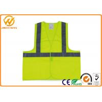 Buy cheap High Visibility Reflective Safety Vests for Traffic Safety / Construction Work from wholesalers
