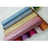 Buy cheap Shoes Bags Wallpaper Glitter Fabric Roll Knitted Backing Technics 0.6mm Thickness product
